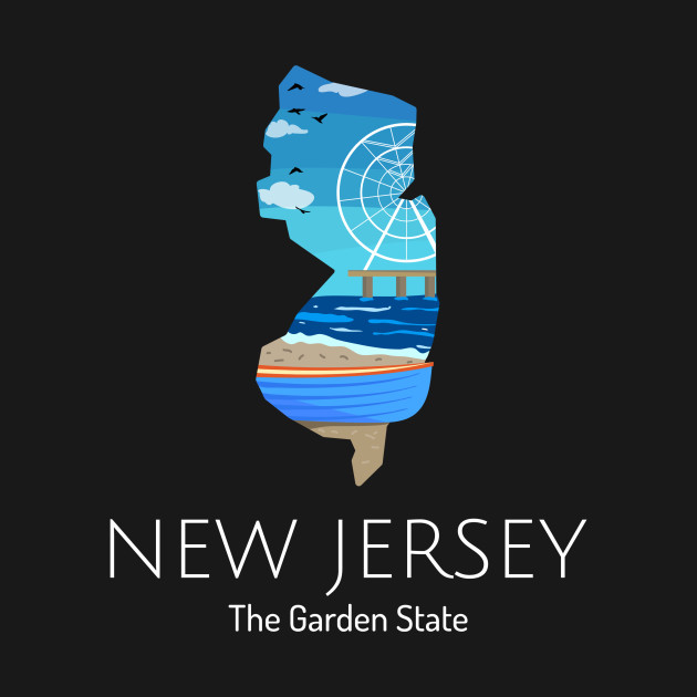 New Jersey Gear and State Pride Gifts. New Jersey Proud State Motto The Garden State graphic. Show your love for New Jersey with this New Jersey gift. New Jersey pride! The design features the New Jersey state motto. New Jersey merchandise is the perfect way to show off your New Jersey roots. Are you New Jersey strong? New Jersey raised? Show it! Wear this print on your next road trip or at the game!