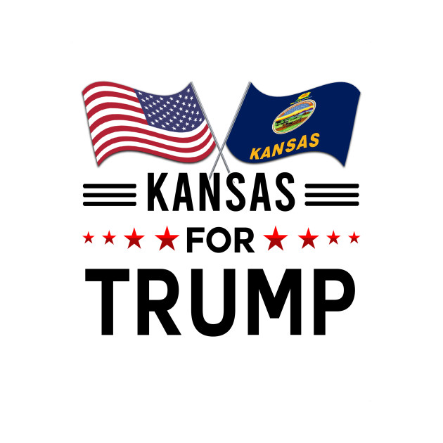 Kansas for Trump flag shirt Shirt For more designs please visit my store, thank you!