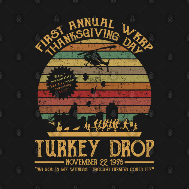 First annual wkrp thanksgiving day turkey drop