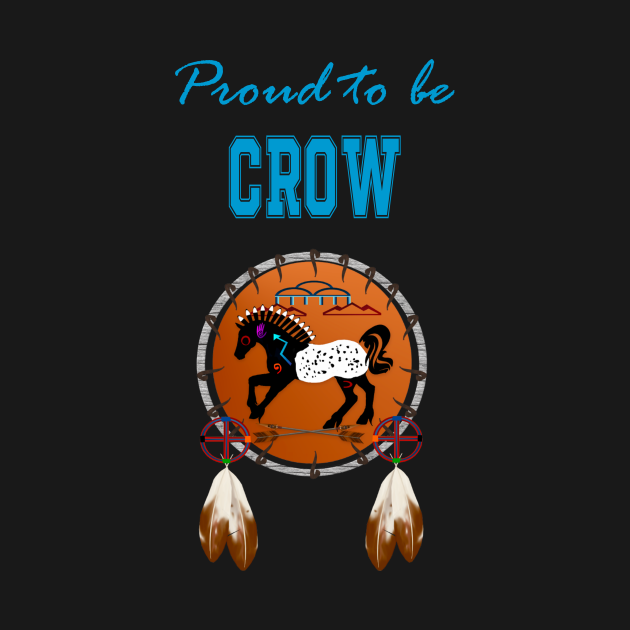 Proud to be Crow Horse Dreamcatcher