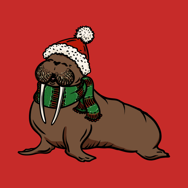 We wish you a walrus Christmas, we wish you a walrus Christmas, we wish you a walrus Christmas, and a happy new year!