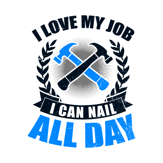 You love wood and sawdust? You are a proud carpenter or wood worker? Then get this cool Nail All Day Gift T-Shirt now or use it as a gift idea for someone who loves wood and sawdust. You like to use a jigsaw, wood carving tools and wood and always want to be at the carpentry or joinery? Don't think any longer and grab this Carpenter Shirt | Nail All Day Gift Tee Shirt now! If you like this 'Carpenter Shirt | Nail All Day Gift' Design, get yours here. With this product you always will get a perfect gift idea for your Birthday Kid or for every other occasion, like christmas, easter, fathers day, mothers day, thanksgiving, halloween, christmas, new year and so on. So don't click around anymore and get your product right here!