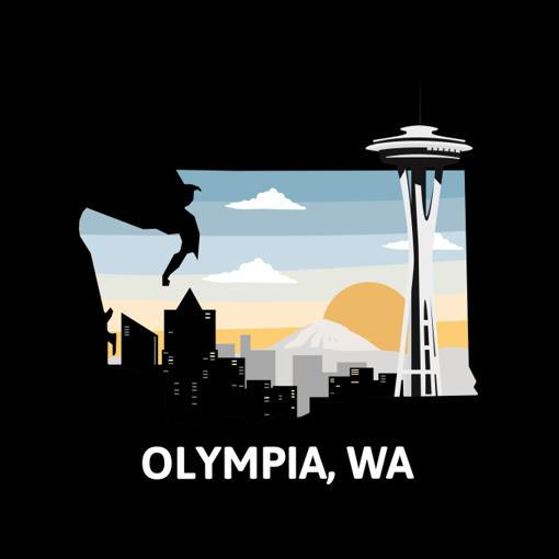 Represent the city of Olympia!