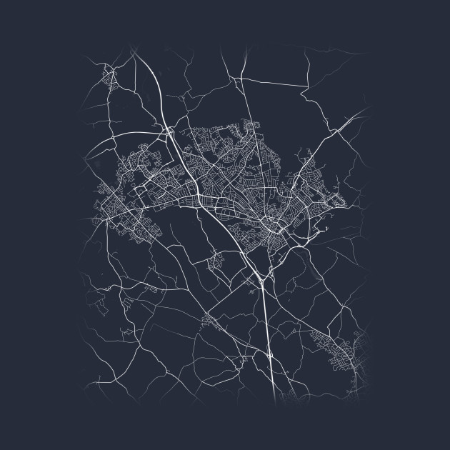 Do you want to scream: I Love Luton ? Of course you do. This is a cool gift for everybody that is connected to Luton (United Kingdom, UK) : born or living in Luton, having found love in Luton, or simply amazed by Luton. The design shows a minimalist cartographic city map of Luton including the streets, roads and rivers. Travel the streets via this Luton Map. Show where you are now on this smart graphic Luton landscape. The data used to create this map of Luton is under Creative Commons 2.0 license. (C) OpenStreetMap Contributors