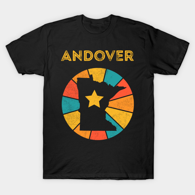 Andover Minnesota retro distressed design will be a great gift dor every city lover!